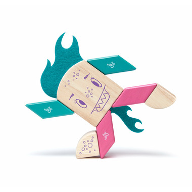 Tegu Magnetic Wooden Block Set Finklebear