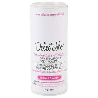 Be Delectable Coconut & Cream Dry Shampoo & Body Powder