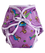 Kushies Washable Swim Diaper Mermaids