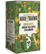 Heath & Heather Organic Green Tea & Cucumber