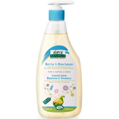 Aleva Naturals Bottle & Dish Liquid Fragrance Free