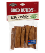 Castor & Pollux Good Buddy USA Rawhide Mini Rolls