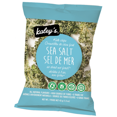 Kaley\'s Kale Chips Sea Salt Flavour