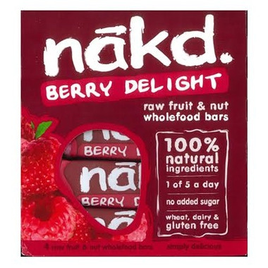 Eat Nakd Berry Delight Raw Bar Family Pack