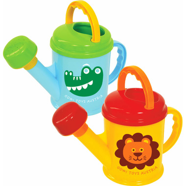 Gowi 1.5L Watering Can Blue and Green/ Yellow and Red