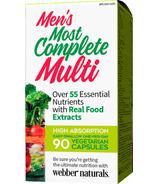 Webber Naturals Men's Most Complete Multi