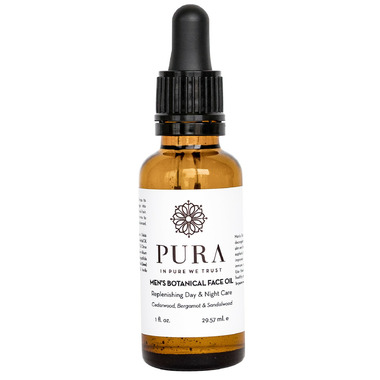 Pura Botanicals Men\'s Botanical Beard & Face Oil