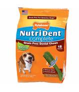 Nutri Dent Complete Dental Chews Grain Free Medium Size 15 Pack
