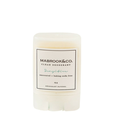 Mabrook & Co. Clean Deodorant Sensitive Travel Size