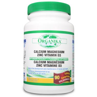 Organika Calcium Magnesium Zinc D3 Multi Vitamin and Mineral