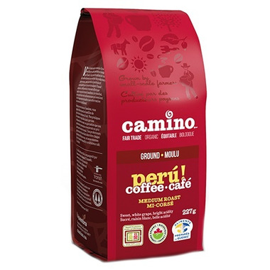 Camino Organic Peru Medium Roast Ground Coffee