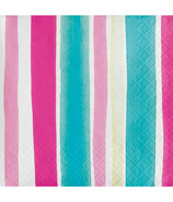 Elise Tropical Beverage Napkin Stripes