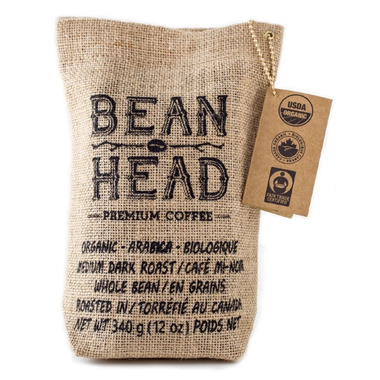 Bean Head Specialty Whole Bean Coffee