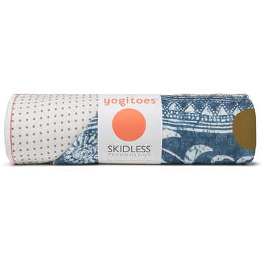 Manduka yogitoes Skidless Towels Denim Collection Gejia