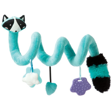Manhattan Toy Travel + Comfort Activity Spiral Raccoon