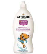 ATTITUDE Little Ones Baby Bottle & Dishwashing Liquid Sweet Lullaby