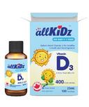 allKiDz Vitamin D3 (400IU)