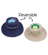 Flapjack Kids Reversible Sun Hat Dinosaurs
