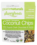 Prairie Naturals Organic Coconut Seed Snacks with Dark Chocolate