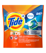 Tide PODS Plus Febreze Odor Defense Laundry Detergent Pacs Active Fresh