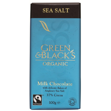 Green & Black\'s Organic Milk Chocolate & Sea Salt