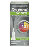 Drixoral NO DRIP with Cooling Menthol Nasal Decongestant