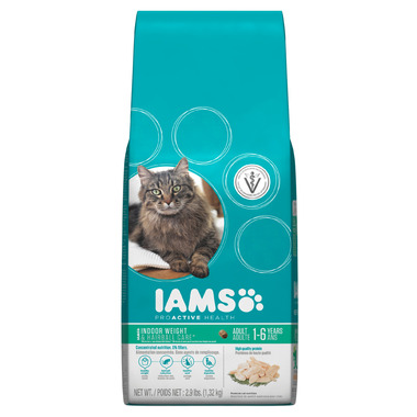 Iams Cat ProActive Health Indoor Weight & Hairball Adult Food