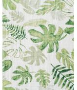 Little Unicorn Cotton Muslin Swaddle Blanket Tropical Leaf