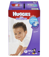 Huggies Little Movers Giant Pack Diapers