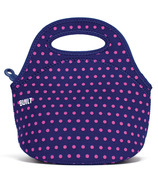 Built Gourmet Getaway Mini Snack Tote Mini Dot Navy