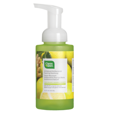 CleanWell All-Natural Antibacterial Hand Soap
