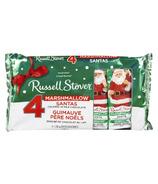Russell Stover Marshmallow Santas