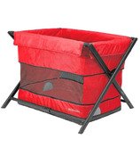 Guzzie & Guss Habitat Playard & Bassinet Red