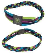 Gaiam 5-Braid Tri-colour Yoga Headband