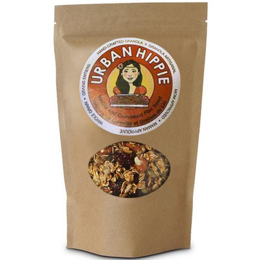 Urban Hippie Vanilla and Cinnamon Flax Seed Granola