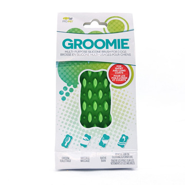 Groomie Multi-Purpose Bone Green