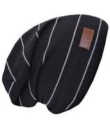 L&P Apparel Cotton Slouchy Beanie Black & Gray