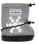 Stonz Silver Snowflake Toddler Booties