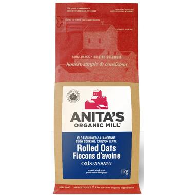 Anita\'s Organic Mill Old Fashion Organic Rolled Oats