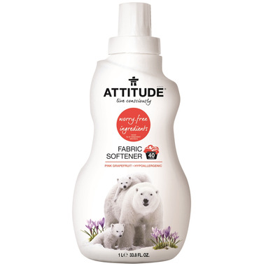 ATTITUDE Fabric Softener Pink Grapefruit