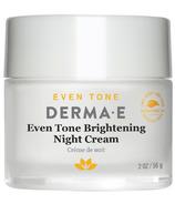 Derma E Even Tone Brightening Night Creme