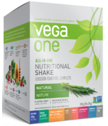 Vega One All-In-One Natural Nutritional Shake Singles Box