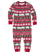 Hatley Baby Union Suit Berry X-Mas
