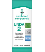 UNDA Numbered Compounds UNDA 2 Homeopathic Preparation