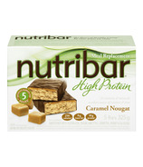Nutribar High Protein Caramel Nougat Bars