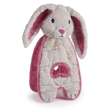 Charming Pet Products Cuddle Tug Bunny Dog Toy