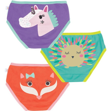 Zoocchini Organic Girls Underwear Enchanted Forest
