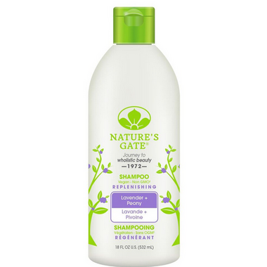 Nature\'s Gate Lavender + Peony Replenishing Shampoo