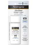 Neutrogena Ultra Sheer Water-Light Daily Facial Sunscreen