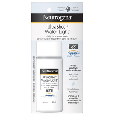 Buy Neutrogena Ultra Sheer Water Light Daily Facial
